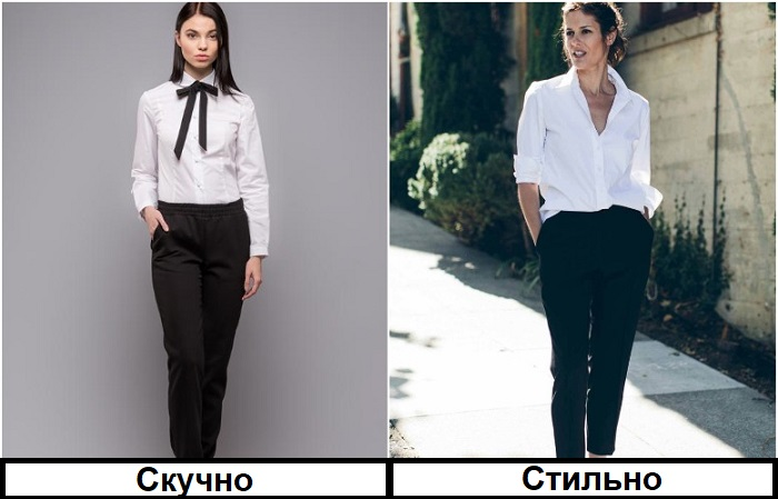 Современные модные образы любят небрежность