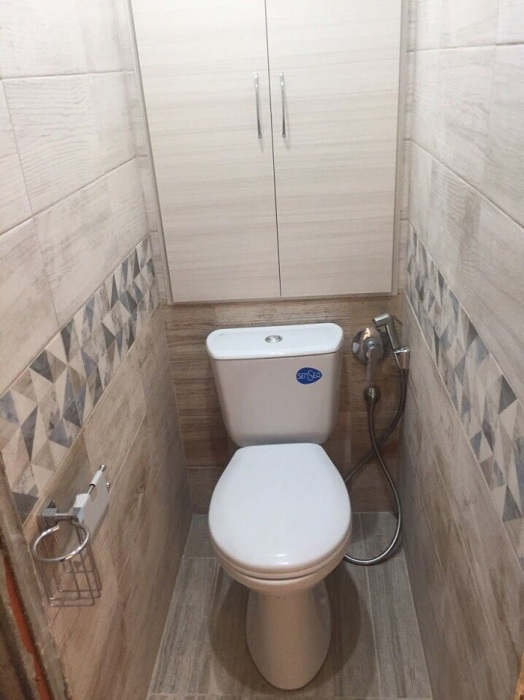 В туалетах россиян нет окон. / Фото: Pinterest.com.au