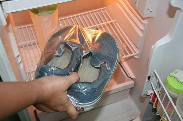 Морозилка убивает все бактерии в обуви. / Фото: livemaster.ru