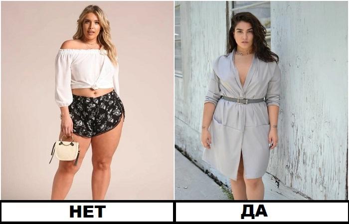 Вместо коротких шорт - платье длиной до колена
