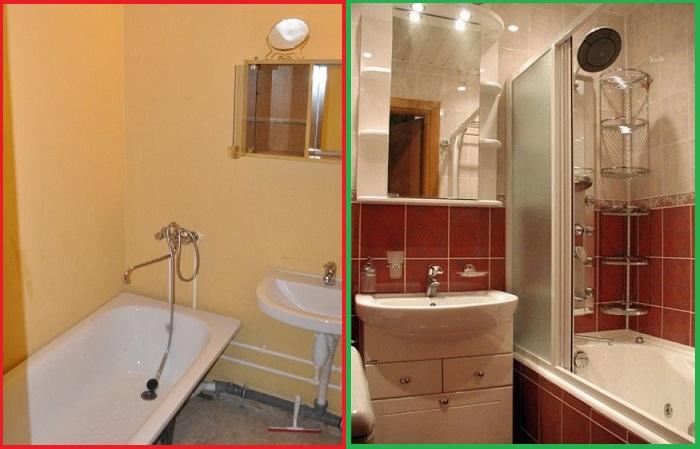 Ванная комната должна выглядеть красиво