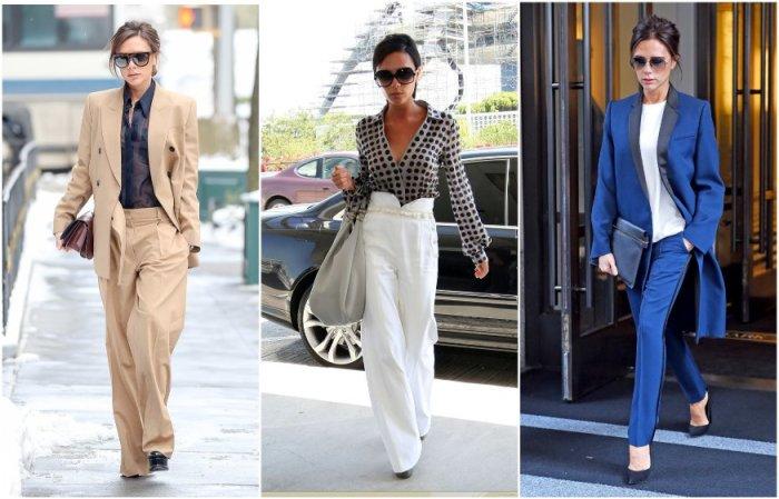 Виктория Бэкхем предпочитает деловой стиль в одежде