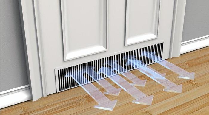 Сделайте в комнате искусственную вентиляцию. / Фото: fb.ru
