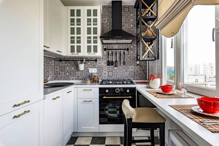 Прямые кухни более практичные. / Фото: 8prohome.com