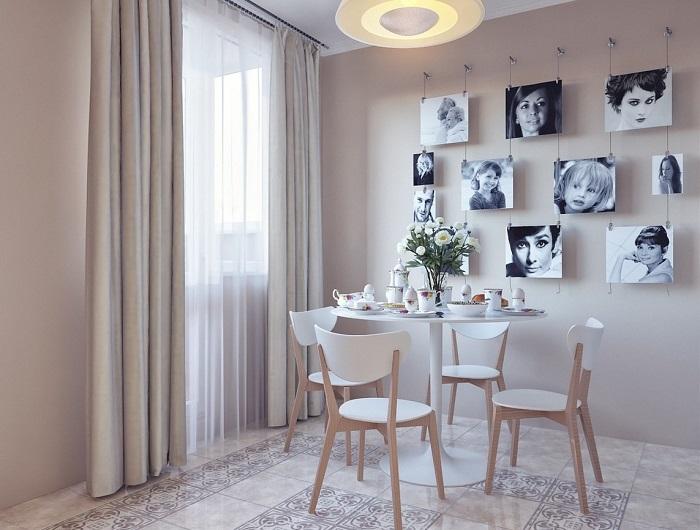 Фотографии на стенеслужат отличным украшением комнаты. / Фото: Handskill.ru