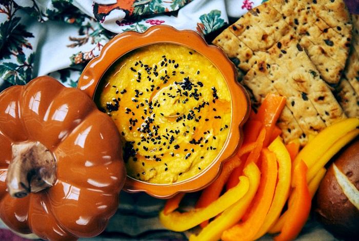 Хумус из тыквенного пюре. / Фото: woman-delice.com