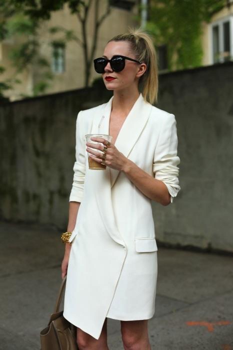Жакет можно использовать как самостоятельную единицу гардероба. / Фото: Jaay.ru