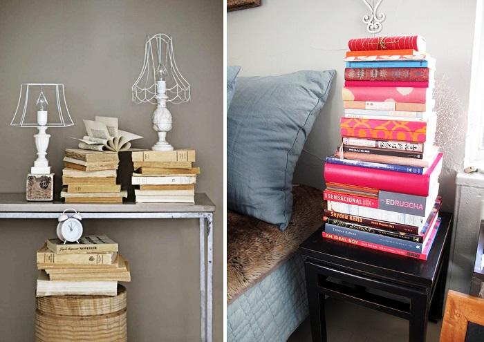 Книги можно использовать в качестве подставки. / Фото: Lightinfom.ru