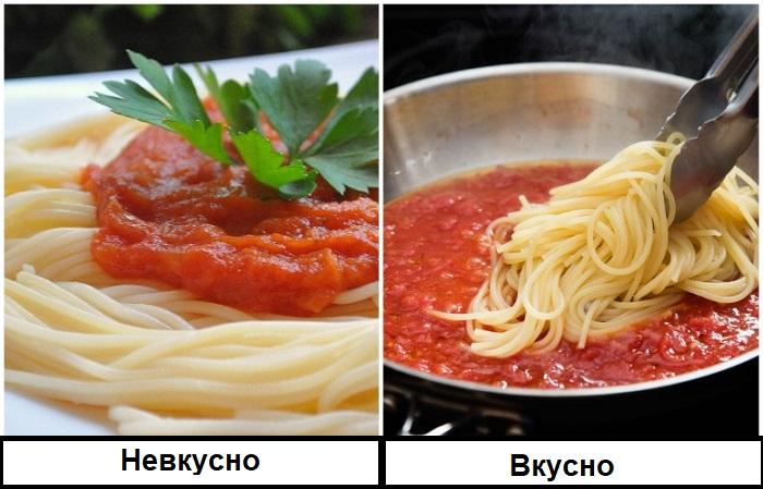 Томатная паста после жарки улучшает свой вкус