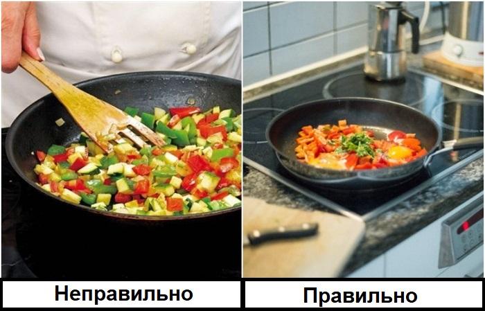 Оставьте блюдо в покое, не мешайте каждые две минуты