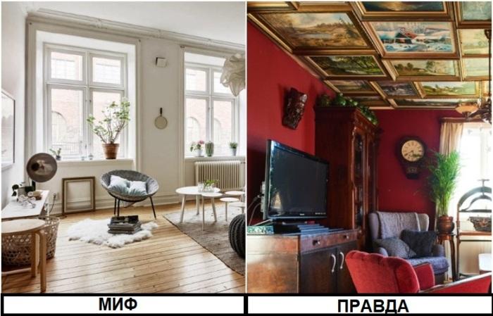 Владельцы квартир могут украсить потолок картинами, если захотят