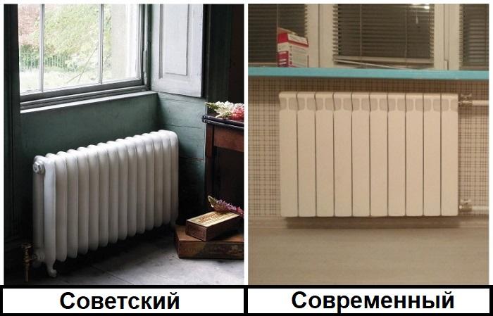 Вместо чугунных радиаторов лучше установить биметаллические