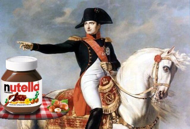 По одной из версий Наполеон косвенно участвовал в появлении Nutella. / Фото: pinterest.ru