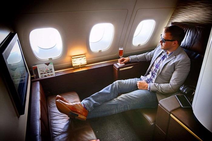 Бизнес-класс имеет много преимуществ. / Фото: Otima.ru