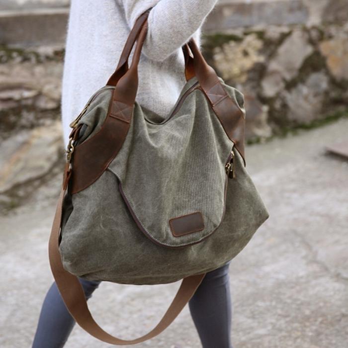 Бесформенная сумка подчеркнет отсутствие вкуса. / Фото: Pandao.ru