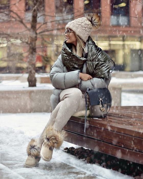 С первыми заморозками россияне достают из шкафов шапки и пуховики. / Фото: pinterest.ru