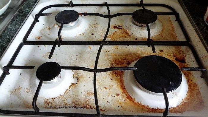 Грязная плита может быть признаком депрессии. / Фото: Planktons.ru