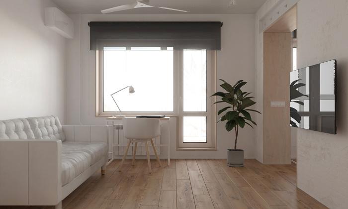Интерьер в минималистичном стиле. / Фото: Postroika.biz