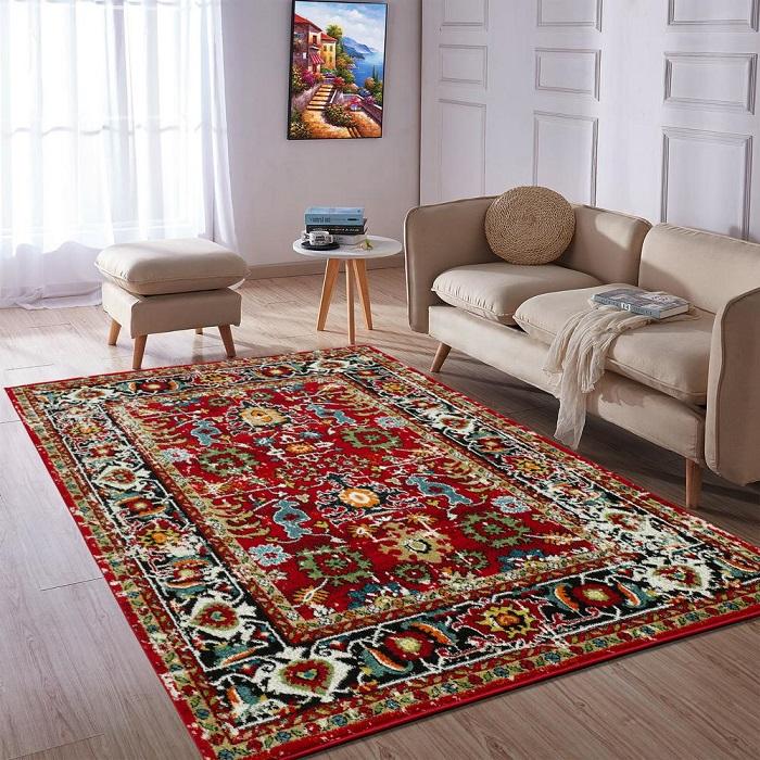 Ковер для создания уюта в интерьере. / Фото: Shnyagi.net