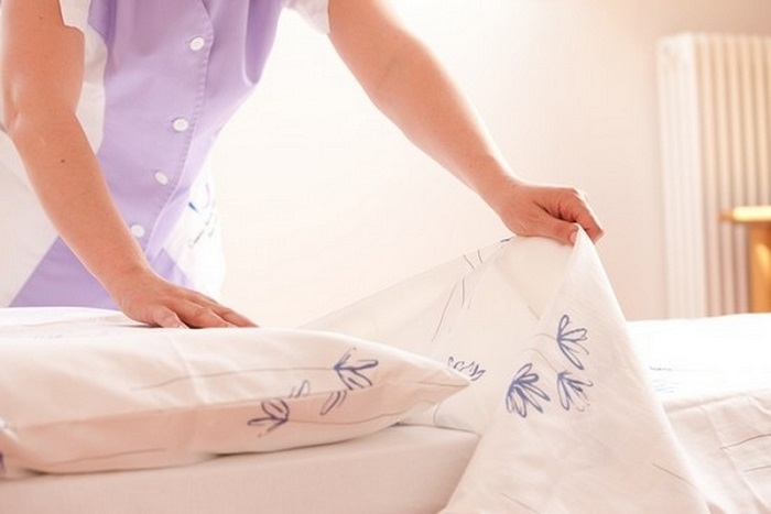 Постельное белье необходимо менять раз в 7 дней. / Фото: Sovetok.com