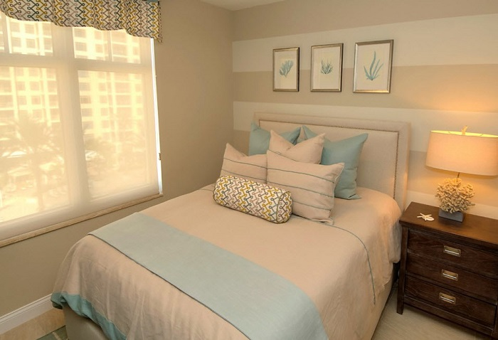 Интерьер спальни должен быть минималистичным. / Фото: Topdizz.com