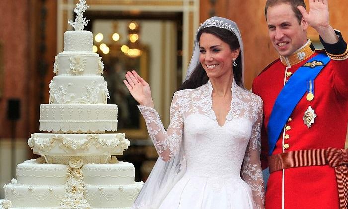 Свадебный торт принца Уильяма и Кейт Миддлтон – 78 000 $. / Фото: pinterest.ru