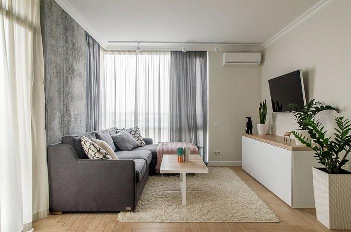 Комната должна быть максимально минималистичной. / Фото: Uiutvdome.com