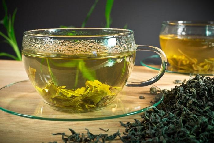 Зеленый чай - прекрасный антисептик. / Фото: Vk.com