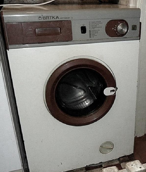 Автоматическая стиральная машина «Вятка». / Фото: Zen.yandex.ru