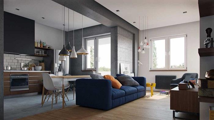 Квартира-студия - не всегда хорошее решение. / Фото: artm.pro