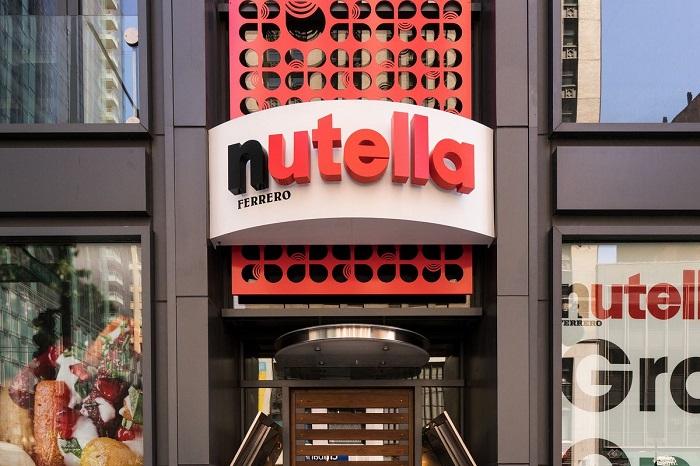 Nutella-бар открылся в 2013 году. / Фото: timeout.com