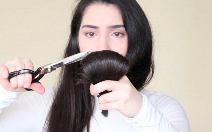 Самостоятельно можно подстричь только кончики. / Фото: beauty-arts.ru