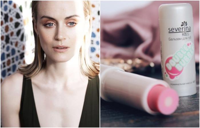 Бальзам для губ помогает создать максимально естественный макияж