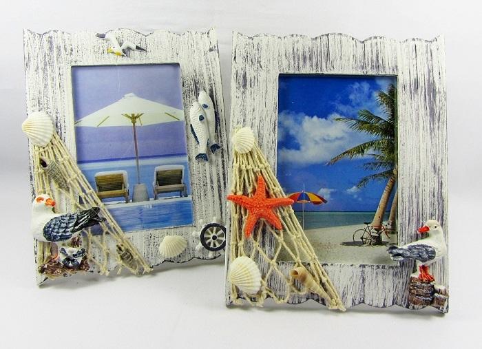 Сувенирные рамки создают визуальный шум. / Фото: bellevie.gift