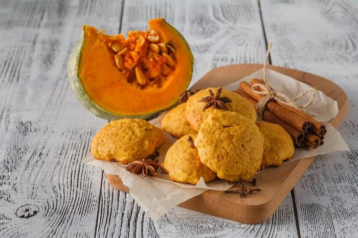 Тыквенное печенье - идеальный осенний десерт. / Фото: vkuhkne.ru