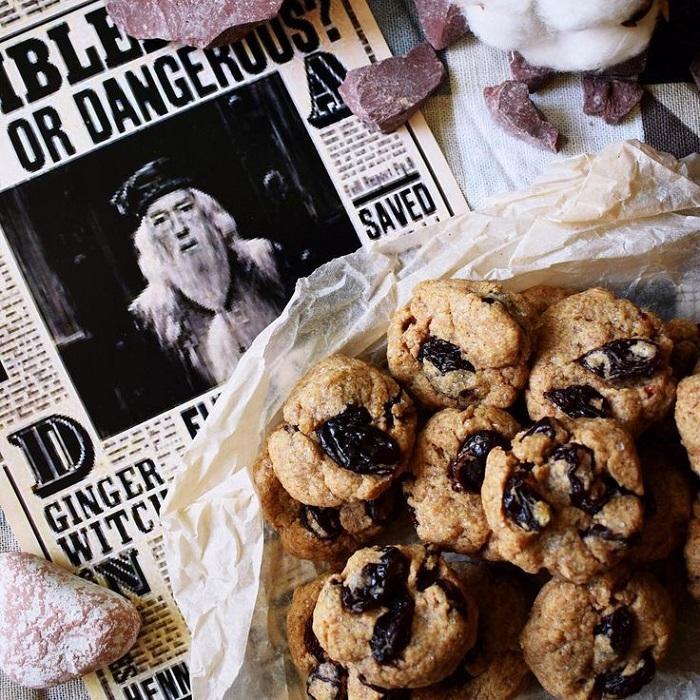 Каменные кексы с орехами и сухофруктами. / Фото: pinterest.ru