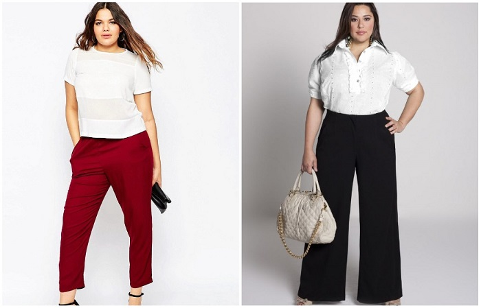 Классические модели - прямые брюки и клеш