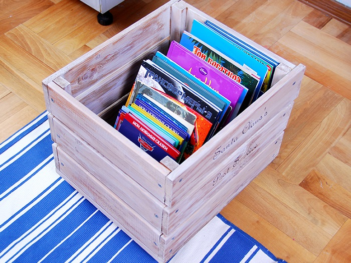 Деревянные ящики можно соорудить самостоятельно или заказать в магазине. / Фото: bt-women.com.ua
