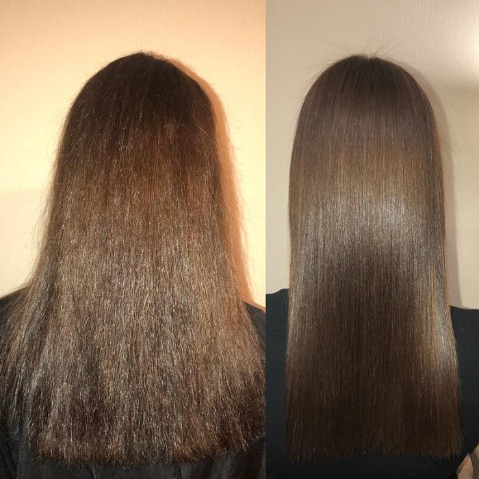 Керапластика возвращает волосам здоровым внешний вид. /Фото: pinterest.ru