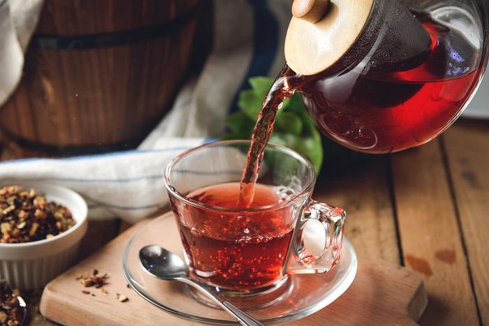 Для приготовления каши можно использовать любой чай. / Фото: goodfon.ru
