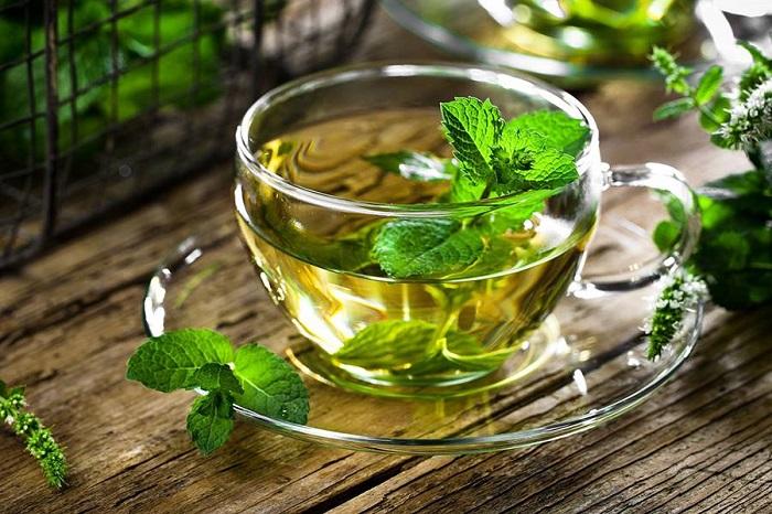 Чай с мятой расслабляет. / Фото: about-tea.ru