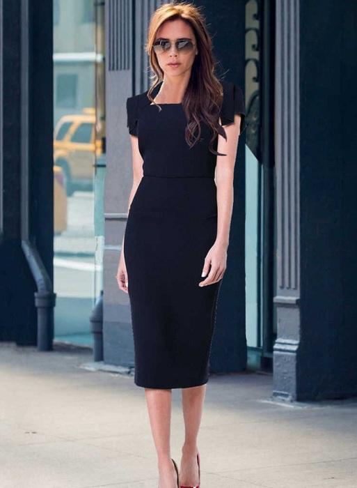 Черное платье является универсальным предметом гардероба. / Фото: chinacheaply.ru
