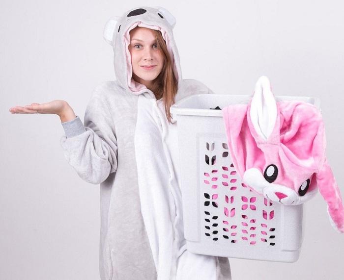 Пижаму необходимо стирать после двух использований. / Фото: chistyulka.ru