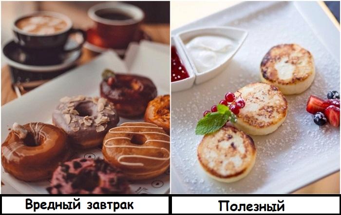 Пончики лучше заменить на полезные сырники. / Фото: zastavki.com