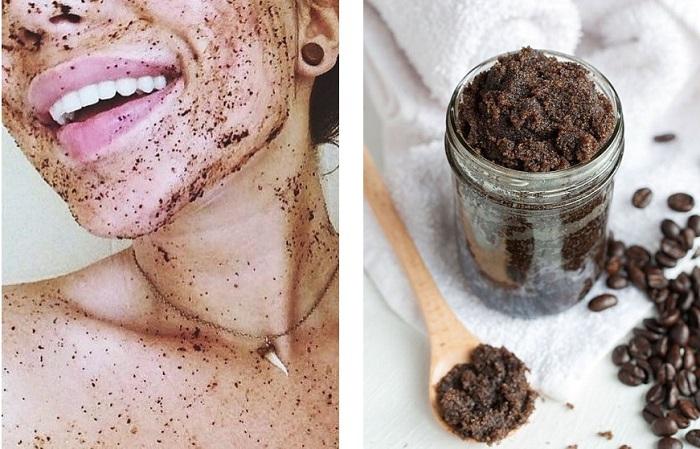 Из кофейной гущи можно сделать натуральный скраб для лица. / Фото: coffee-nolim.ru