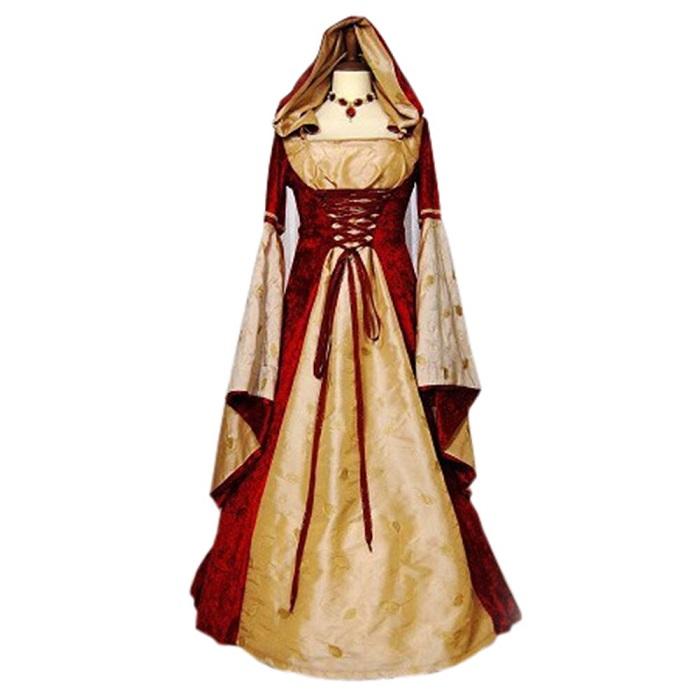 В Средневековье платья шили из ярких тканей. / Фото: color-harmony.livejournal.com