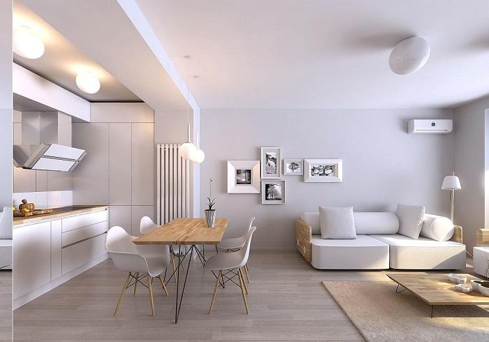 Выбирайте «воздушные», лёгкие решения и стиль минимализм. / Фото: coolhouses.ru