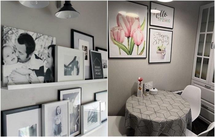 Украсьте стены постерами и фотографиями