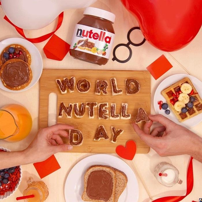 День Nutella придумали пользователи Фейсбука. / Фото: businesspskov.ru