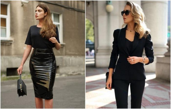 Для делового образа выбирайте костюм или юбку-карандаш